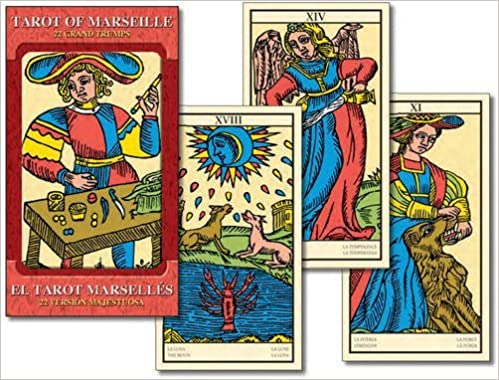 Tarot Of Marseille Large Edition (Grand Trumps): 22 full ...