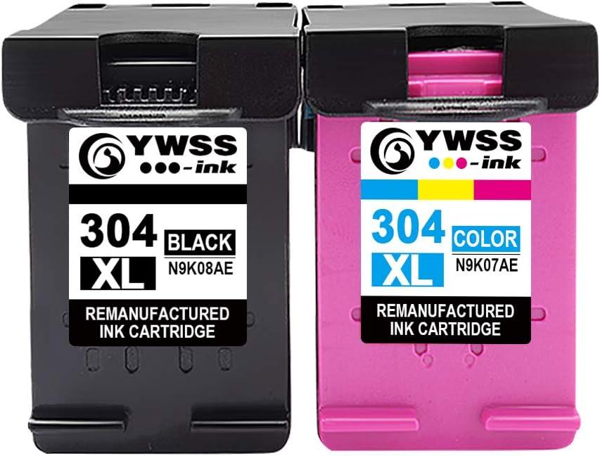 YWSS 304XL Remanufacturado para HP 304 XL 304 Cartuchos de Tinta ...
