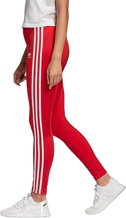 Womens Adidas Originals 3 Stripe Lotus Leggings Black Size 6