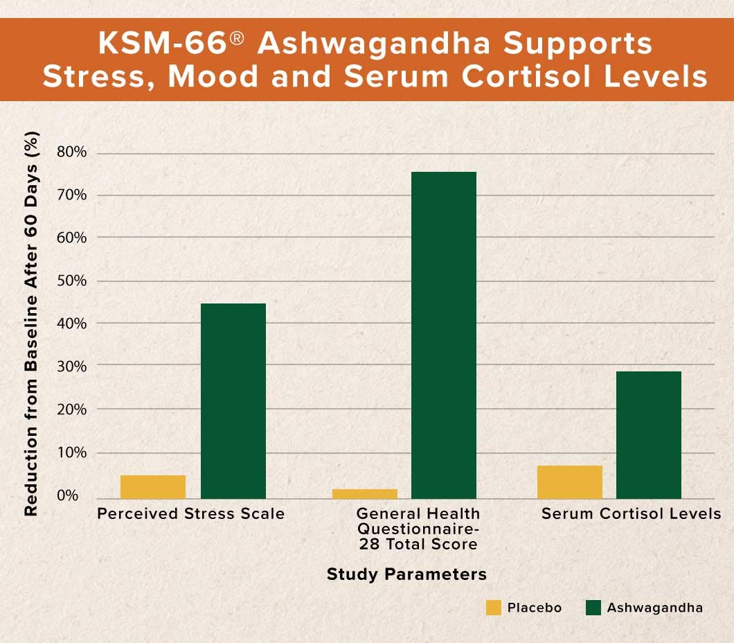 Dr  David Williams Clinical Grade KSM-66 Ashwagandha (600 mg) Helps  Brighten Your Mood, Relieve