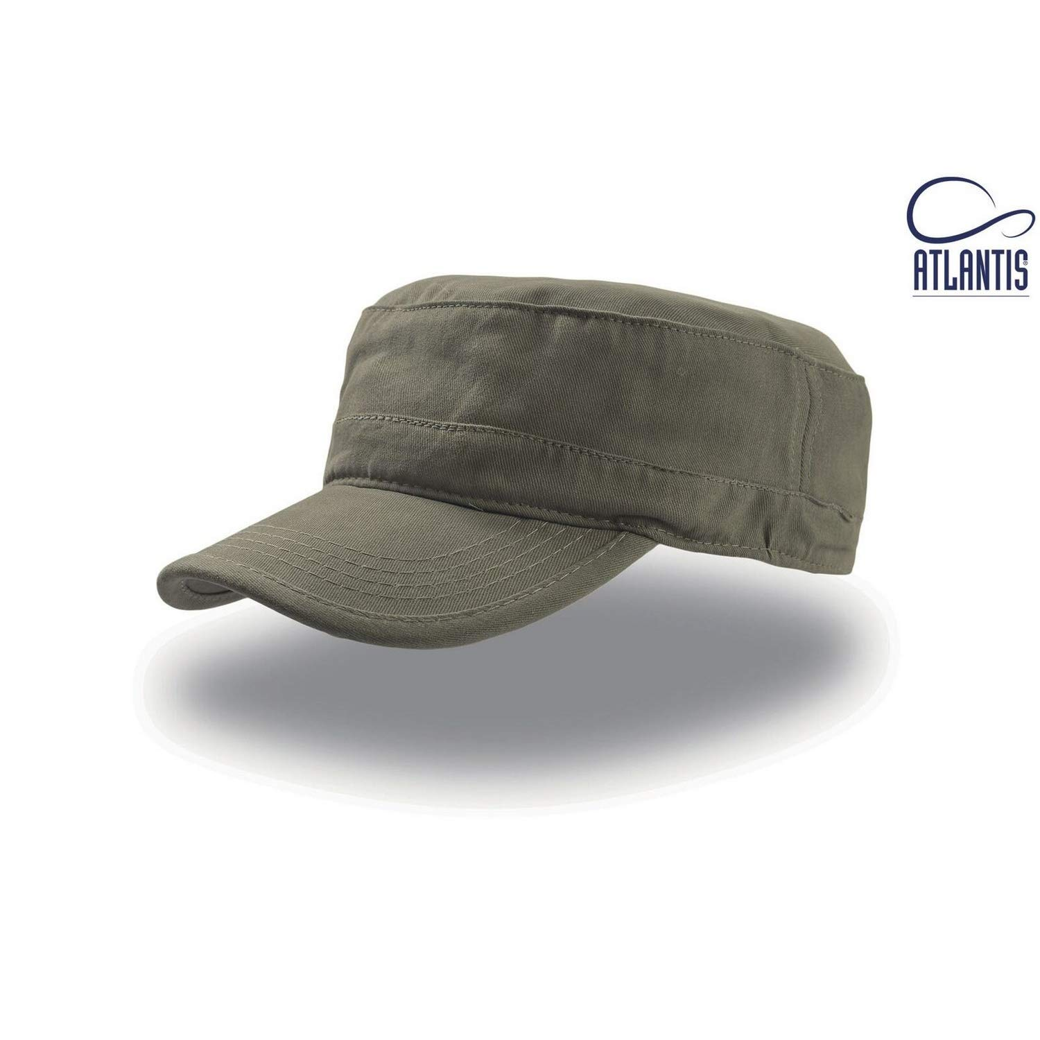 Atlantis Tank Brushed Cotton Military Cap UTAB225_3