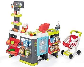Comprar Smoby- Maximarket Supermercado Juguete, Color Rojo, Verde y Azul (350215)