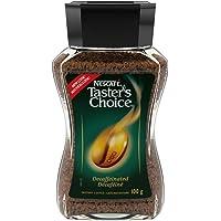 NESCAFÉ Taster's Choice Decaf, Instant Coffee, 100g Jar