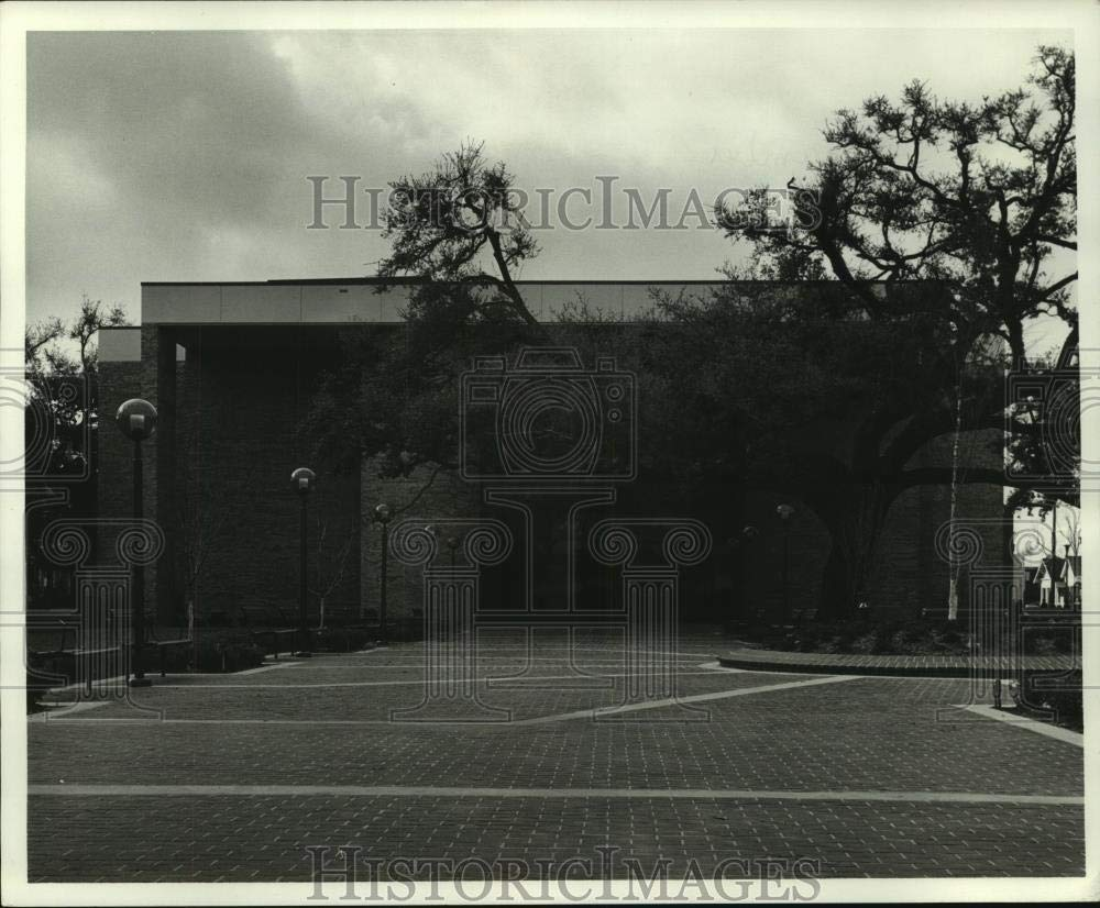 Vintage Photos 1981 Press Photo Exterior of The Chamber of Commerce Building, Mobile