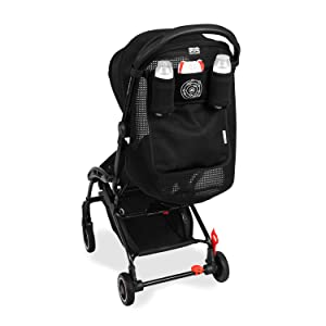 Maclaren atom Organiser- Holds key essentials at arm's reach. Multi-pocket Organiser, easily attaches to the handle bar of atom Style Set stroller