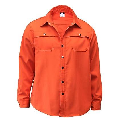 444180b0e94a Amazon.com  Chicago Protective Apparel 600-WIN-O Indura Welding Shirt Jacket