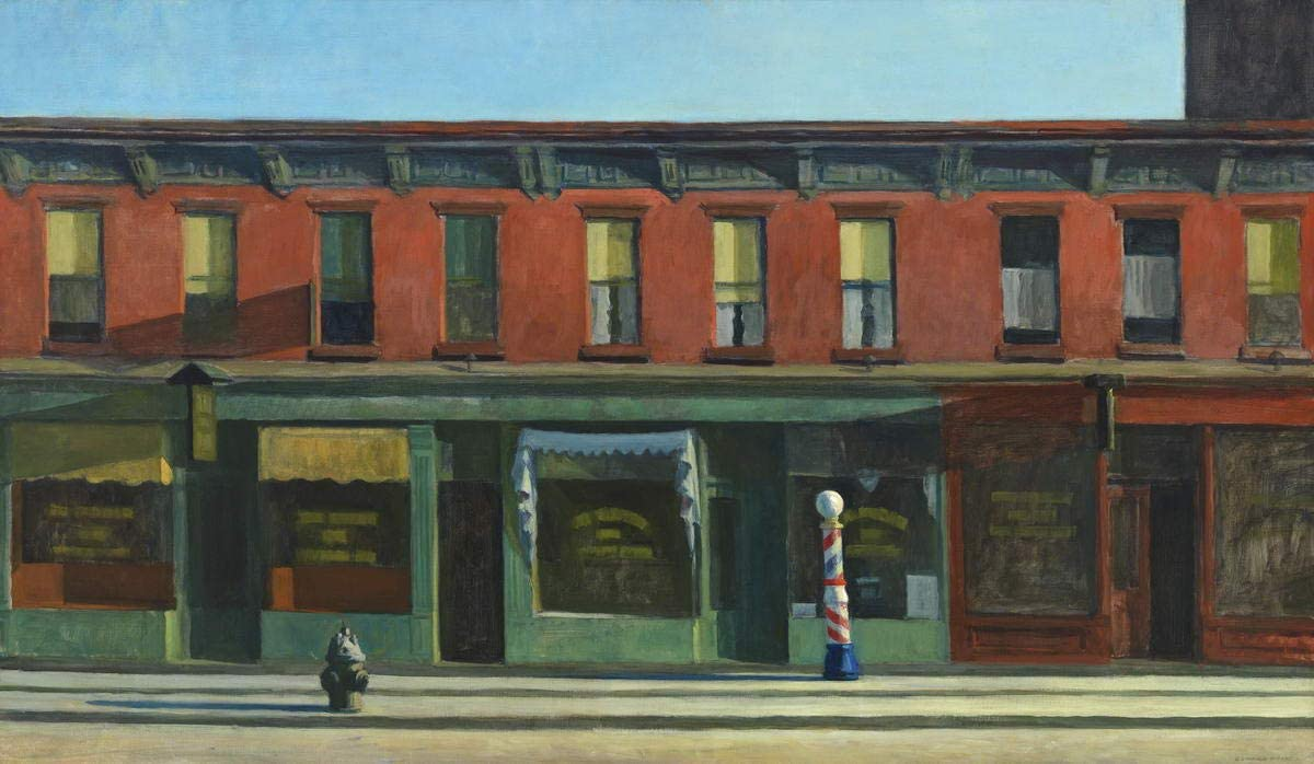 American Landscape Berkin Arts Edward Hopper Giclee Canvas Print Paintings Poster Reproduction