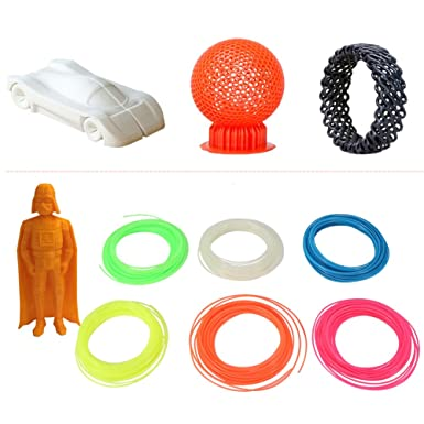 Filamento 1.75mm de Impresora 3D Rollos de Filamento Luminoso de ...