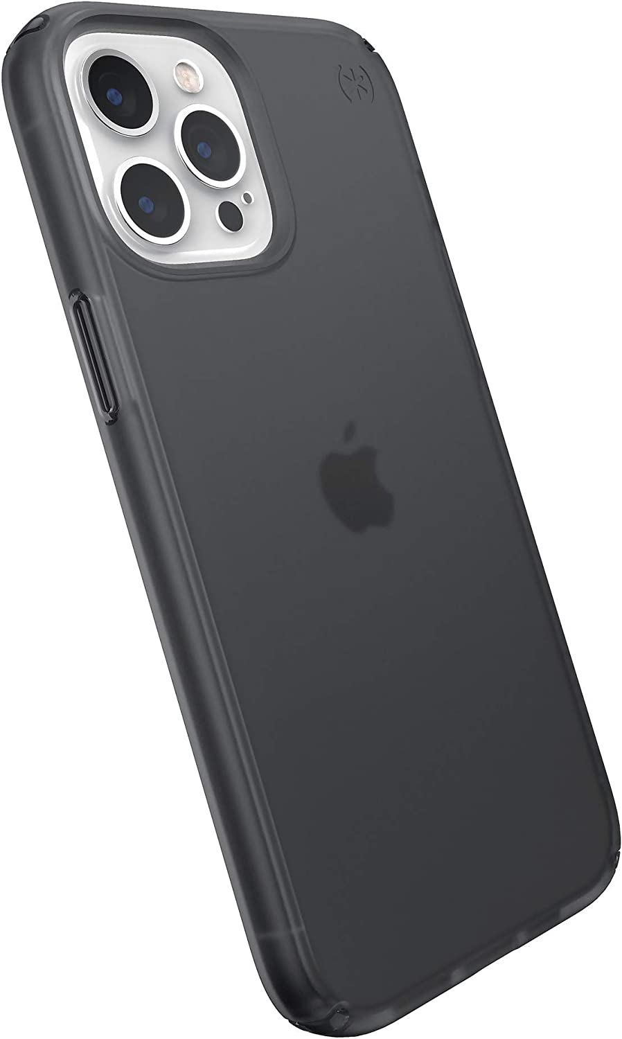 Speck Products Presidio Perfect-Mist iPhone 12 Pro Max Case, Obsidian/Obsidian