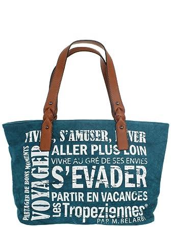 8954964549093a Les Tropéziennes Sac à main Hermitage 44cm  Amazon.fr  Vêtements et  accessoires