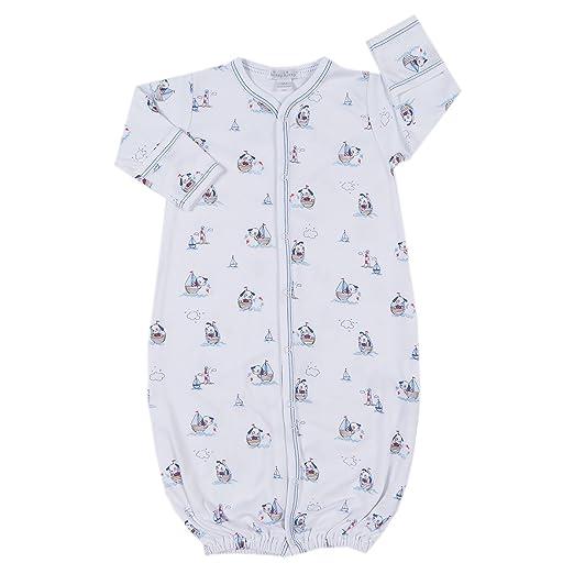 Kissy Kissy Baby Aviators Print Convertible Gown