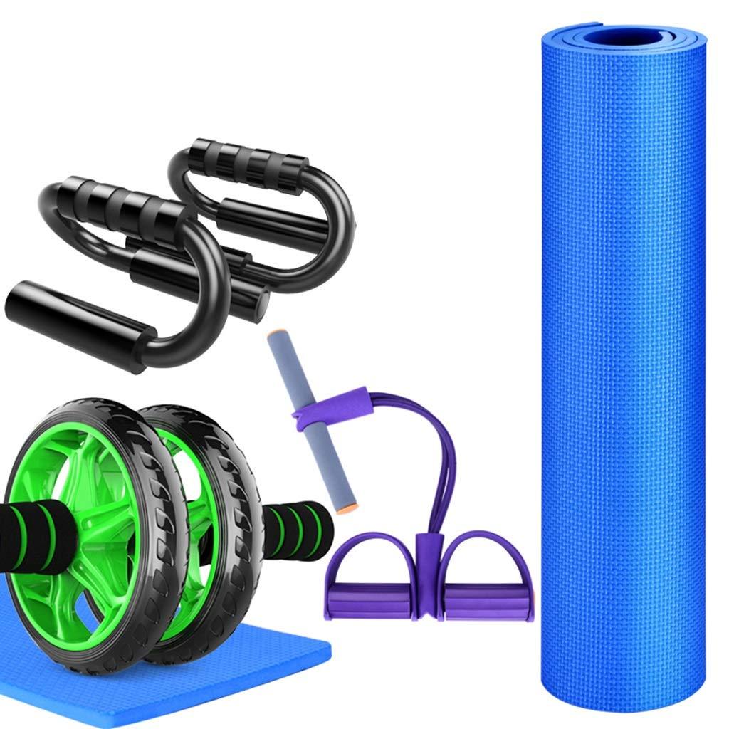 腹筋ローラーマットなしノイズ筋肉二輪車腹部ホイールトレーニングAddominaliフィットネス運動トレーニング機器セット (色 : B) B B (色 B07NPMVLTH B07NPMVLTH, 東秩父村:5128f8b2 --- sharoshka.org