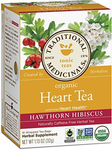 Традиционные Medicinals Органические Сердце Чай, 16 граф пакетиков