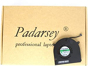 Padarsey New Laptop CPU Cooling Fan Compatible for MacBook Pro 13-Inch Unibody A1278 A1280 A1342