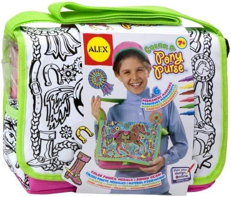 Amazon.com  ALEX Toys Craft Color a Bag   Accessories Color A Pony Purse   Toys   Games a09e6f8db1a51