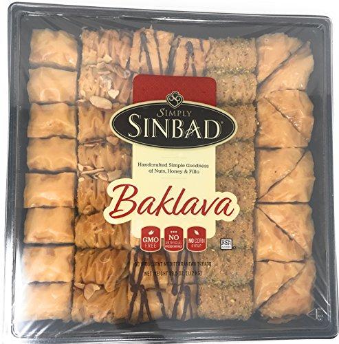 Baklava Desserts - Simply Sinbad Baklava Assortment