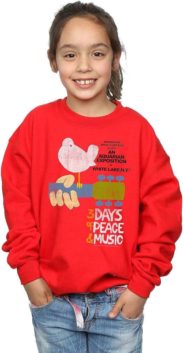 ABSOLUTECULT Woodstock Girls Festival Poster Sweatshirt