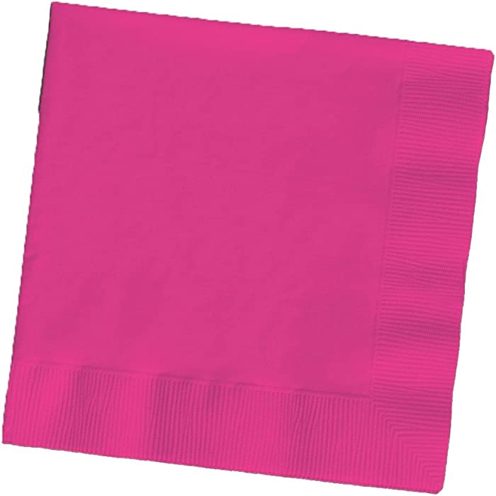 Top 10 Fushia Green Beverage Napkins