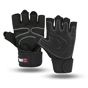 Domserv Guantes Gimnasio Hombre Agarre Extra Transpirable ...