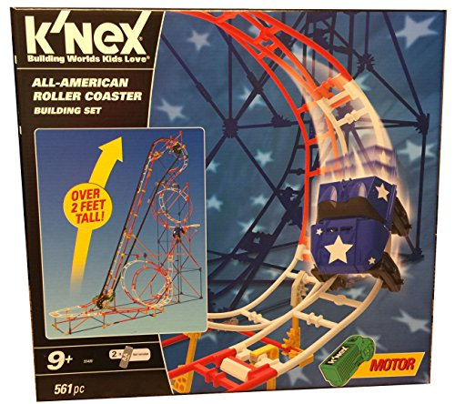 Knex All-American Roller Coaster Building -