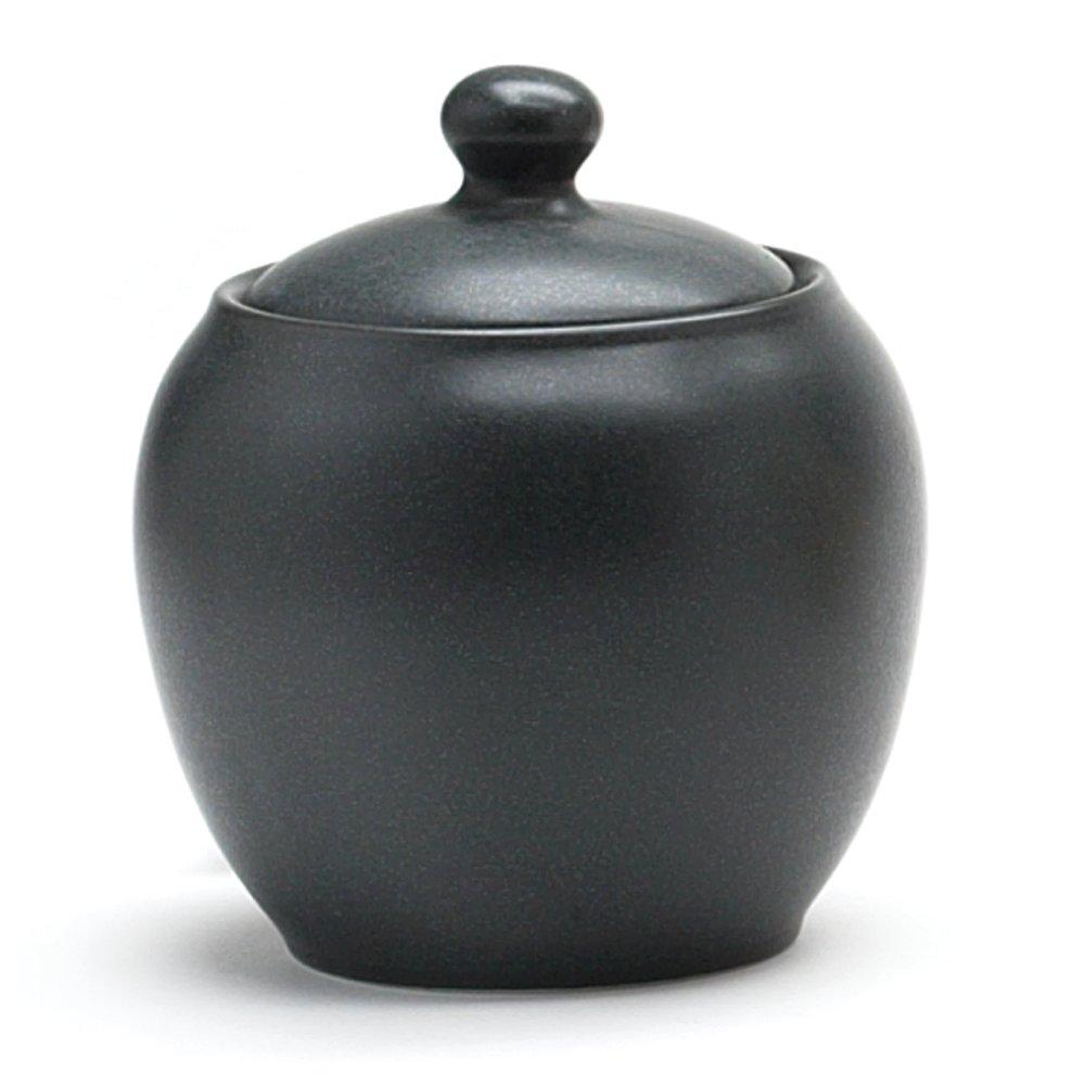 Noritake Colorwave Sugar Bowl with Cover, Graphite