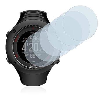 Savvies Film Protection décran Compatible avec Suunto Ambit3 Run Black [6 Pièces]