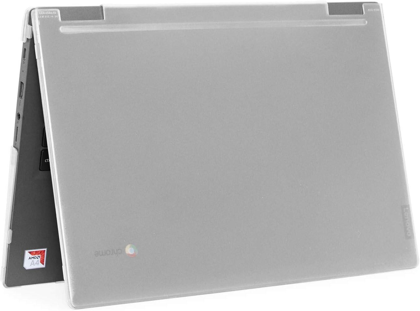 """mCover Hard Shell Case for 2019 14"""" Lenovo 14e Series Chromebook Laptop (NOT Fitting Older 14"""" Lenovo N42 / S330 and 11.6"""" N22 / N23 / N24, etc Chromebook) (LEN-C14e Clear)"""