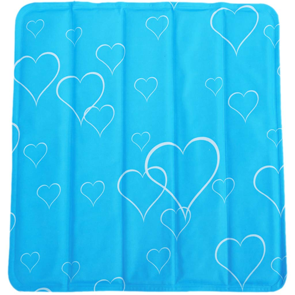 Cloudqi Baby Summer Sleeping Mat Four Color Cool Cushion Student Dormitory Play Toy Cushion (C)