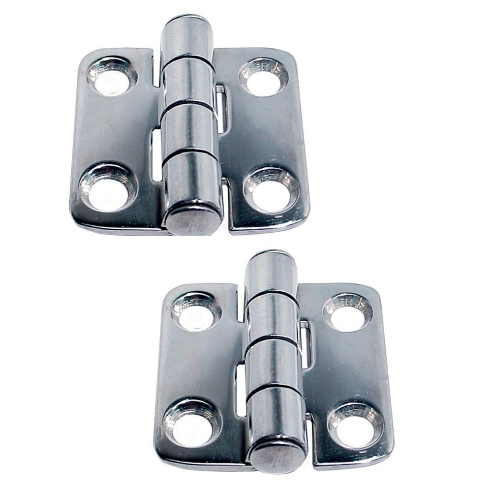 White Water Stainless Steel Butt Hinges (7730ES - 2'' x 2'')