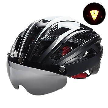 Casco de bicicleta con visera magnética para hombres y mujeres, Victgoal, ciclismo, ciclismo