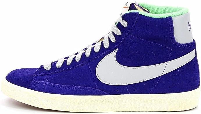 perder quemado Criticar  Nike Blazer Mid Premium Vintage Suede - Zapatillas tipo bota, color gris,  verde y morado: Amazon.es: Libros