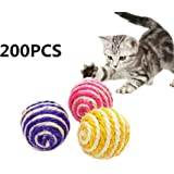 Milopon Scratch Toys Cat Rolling Scratching Post Cat Rolling Balls Cat Scratching Board Cat Toys Random colour