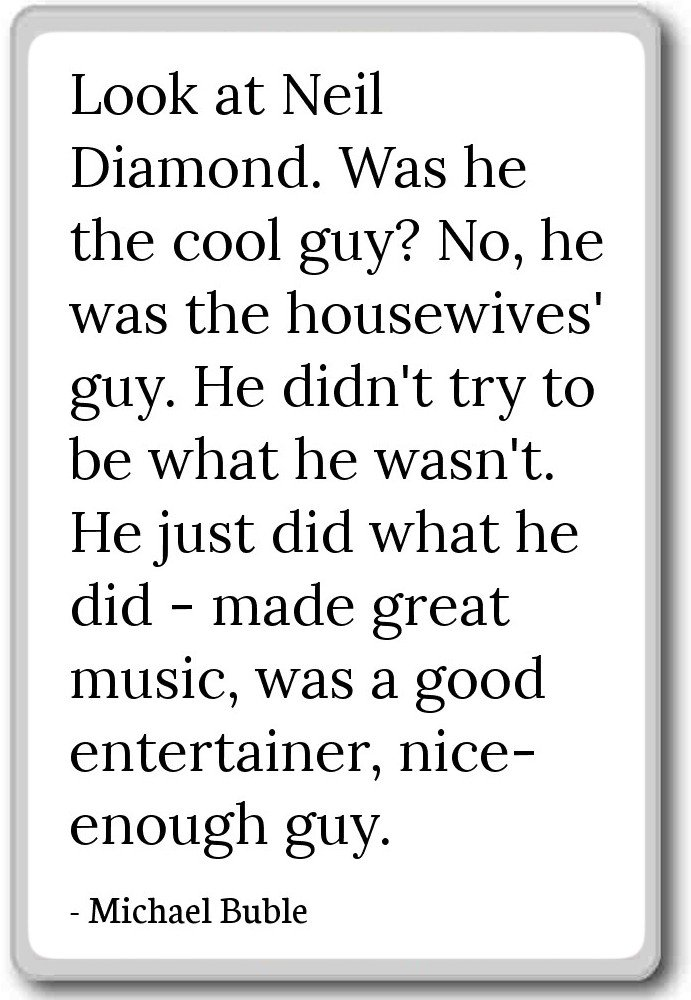 Amazon Look At Neil Diamond Was He The Cool Guy No
