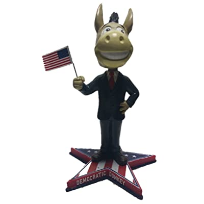 Democratic Donkey Limited Edition Political Bobblehead - Political, Presidential, Election, Convention Memorabilia: Toys & Games