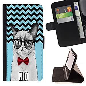 Dragon Case - FOR Samsung Galaxy S6 EDGE - Love is the greatest refreshment - Caja de la carpeta del caso en folio de cuero del tir¨®n de la cubierta protectora Shell
