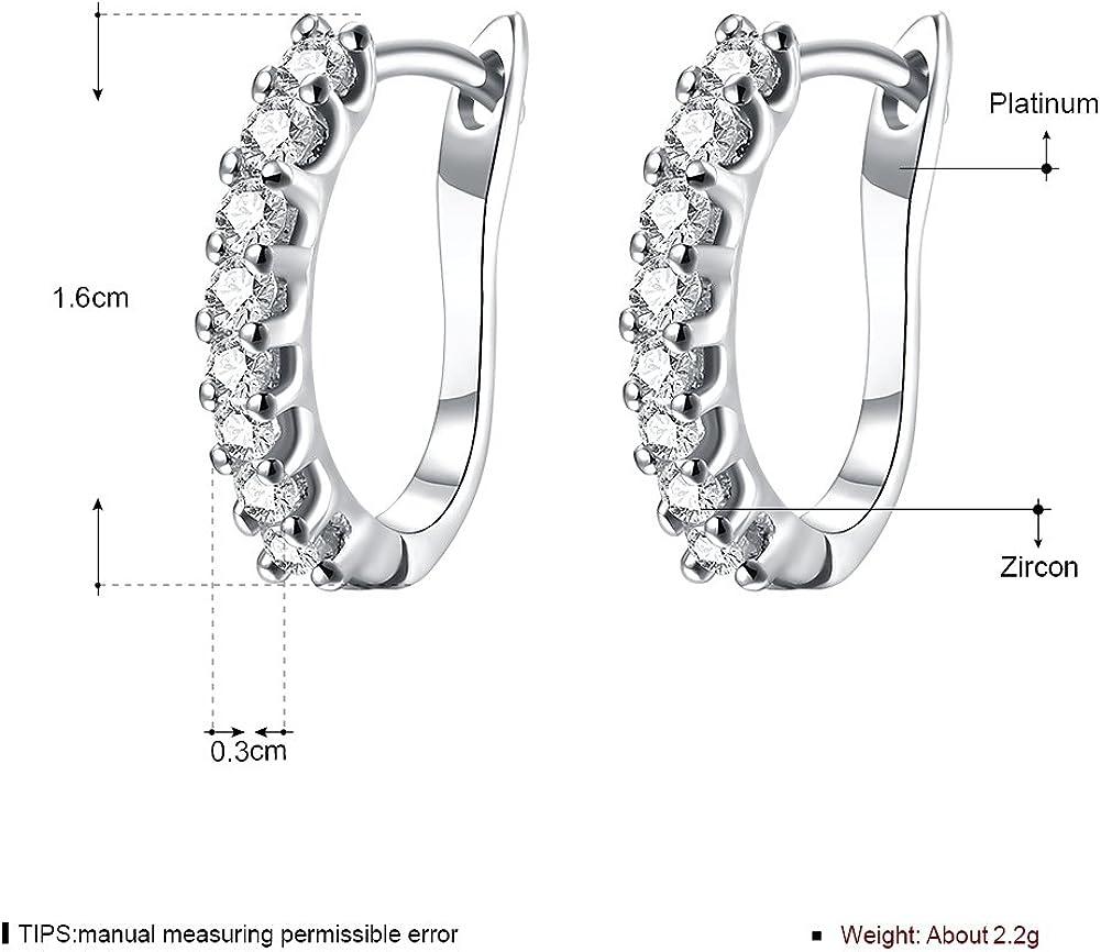 LEKANI Ms Earrings Crystal Gem Personalized Charm 2018 New Earrings KD325
