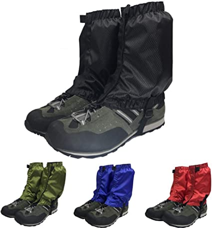1 Pair Anti Bite Snake Guard Leg Protection Gaiters Cover Outdoor 4 Hiking Boots
