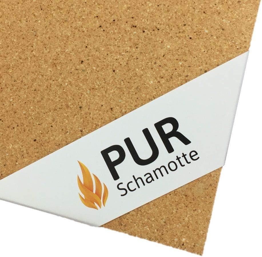 PUR Schamotte Schamottstein 2H16 W/ölber 250 x 124 x 72//56 mm 1 Stein