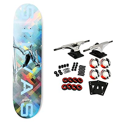 "Primitive Skateboard Complete Moebius Marvel Silvas Silver Surfer 8.38"" : Sports & Outdoors [5Bkhe1007281]"