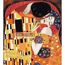 Kiss by Klimt (v3) counted cross stitch kit