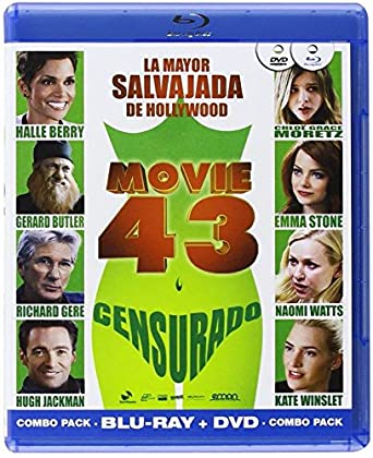 Amazon.com: Movie 43 (Combo Dvd + Bd)) (Blu-Ray) (Import ...