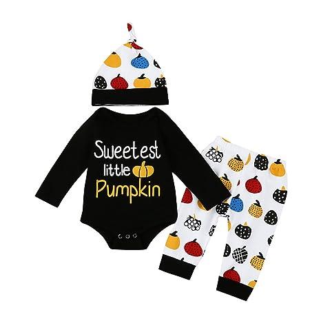 sukisuki Juego de Halloween ropa para bebé, para recién ...
