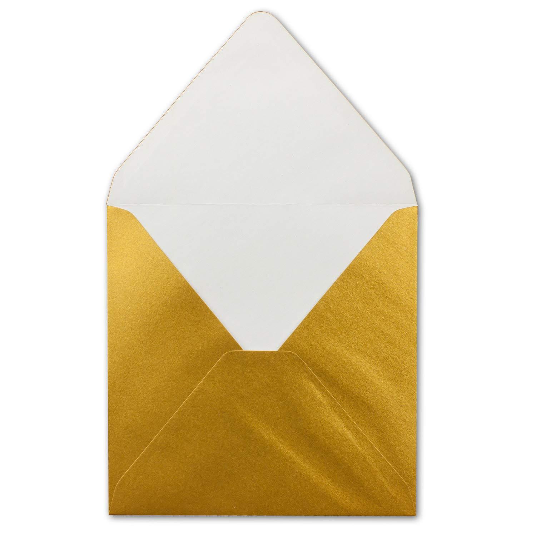 Quadratisches Falt-Karten-Set I 15 x 15 cm - - - mit Brief-Umschlägen & Einlege-Blätter I Royalblau I 75 Stück I KomplettpaketI Qualitätsmarke  FarbenFroh® von GUSTAV NEUSER® B07Q2XV9S8 | Neuankömmling  643def