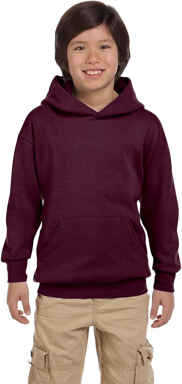 Hanes P470 Youth ComfortBlendå¨ EcoSmartå¨ Hooded Pullover: Athletic Hoodies: Clothing