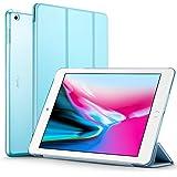 ESR iPad 2017 iPad 9.7 Zoll Hülle, Ultra Dünn Cover Auto aufwachen / Schlaf Funktion Smart Case Wickelfalz Ledertasche mit Lichtdurchlässig Rückseite Abdeckung Schutzhülle für iPad 9.7 2017 (Blau)