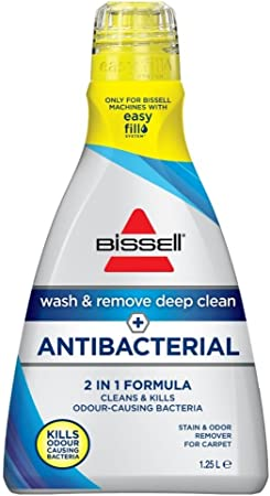 BISSELL 1898E Wash and Remove Plus Antibacterial Formula, 1.25 Litre: AmazonSmile: Kitchen & Home