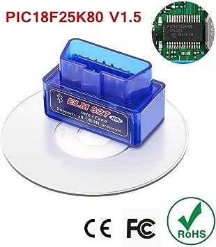 ELM327 V1.5 WIFI OBD2 Adapter PIC18F25K80 OBD 2 Scanner Car Auto