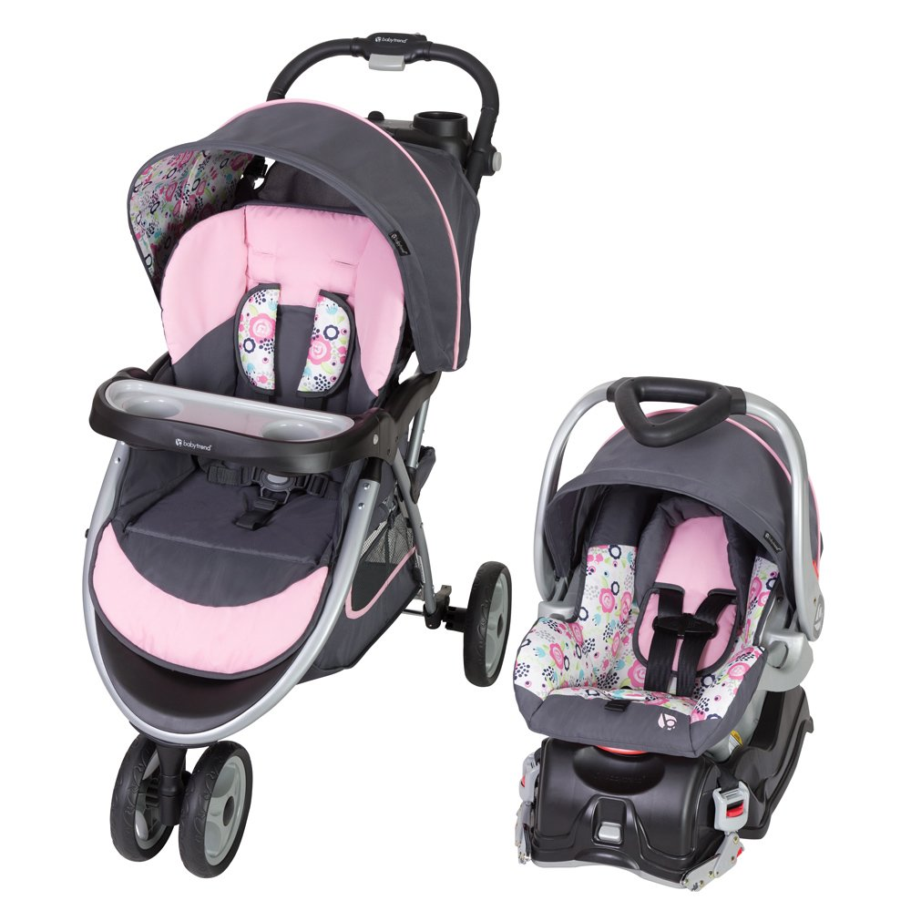 Baby Trend Skyview Travel System, Flora by Baby Trend