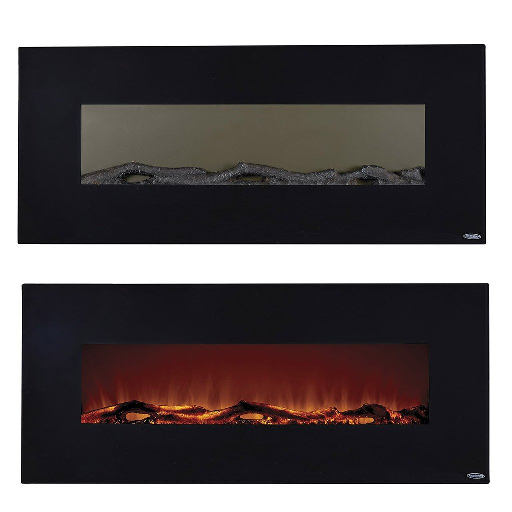 amazon com touchstone 80001 onyx wall hanging electric fireplace