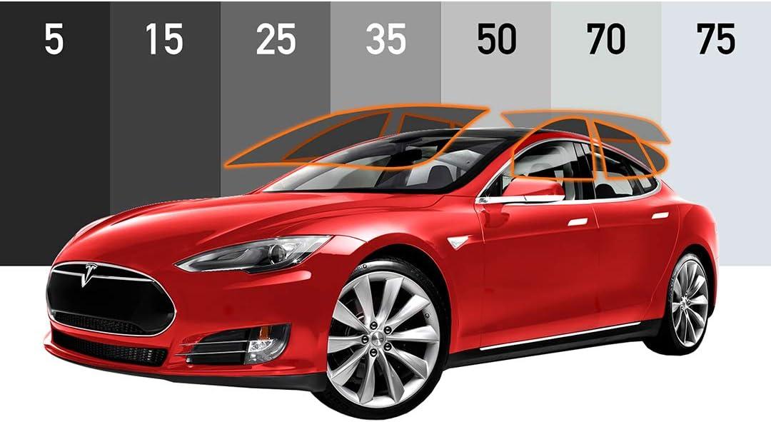 MotoShield Pro - Premium Precut Ceramic Window Tint for Tesla Model S [99% Infrared Heat Reduction/Blocks 99% UV] 2mil - All Windows